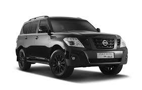 nissan patrol 2016 arabian automobiles launches nissan patrol black edition gmr