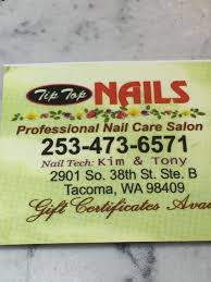 tip top nails home facebook