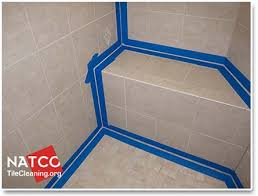 how to professionally re caulk a tile shower bathroom tile in