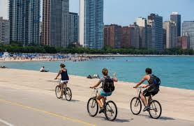 Bike Map Chicago by The Chicago Lakefront Trail Choose Chicago