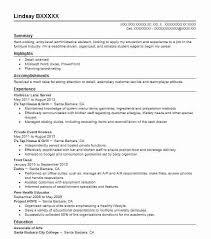 Front Desk Job Description For Resume by Best Lane Server Resume Example Livecareer