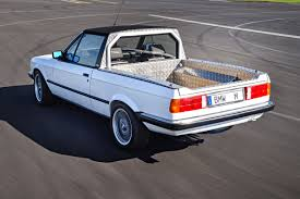 Bmw M3 E30 - bmw secretly built an e30 pickup truck in 1986