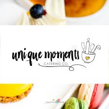premade logo design branding package cooking logo food