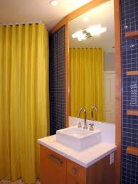 bathroom yellow bathroom trendy twist to a timeless color scheme