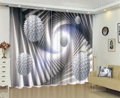salon bureau cube magique fenêtre panne de luxe 3d rideaux set pour lit chambre
