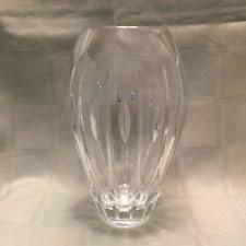 Vintage Waterford Cut Glass Crystal Vase Starburst Pattern Waterford Crystal Vases Ebay