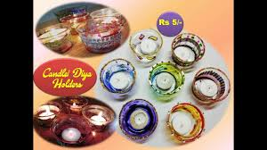 diya and candle holder 5 how to make candle holders using