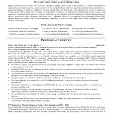 supply chain manager resume sample supply resumes logistics