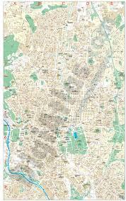 Madrid Map Madrid Center City Map