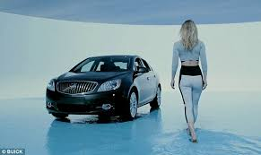 buick black friday bar refaeli strikes poses with buick in campaign for gm u0027s luxury