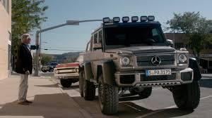 mercedes pickup truck 6x6 beyond the reach movie shows off the mercedes benz g63 amg 6x6
