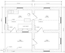 Rectangular Ranch House Plans Plan Basic Rectangular House Plans