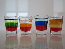 Multicoloured Flag How To Layer A Drink Fourth Of July Shot Youtube