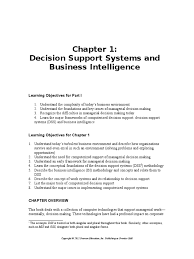 turban dss9e im ch01 business intelligence decision support system
