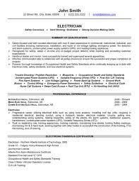 Resume Outline Pdf Electricians Resume Template 4716 Plgsa Org