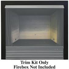 trim kit for procom ventless fireplace firebox procom heating