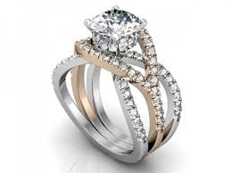 engagement rings dallas two tone split shank with micro pave engagement ring dallas