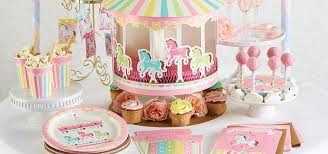 carousel baby shower carousel baby shower supplies party delights