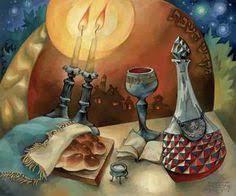 image of prayer for shabbat candles celebrate shabbat