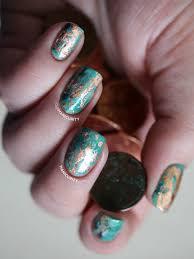 the digit al dozen cuprum texture nail art manicurity bloglovin u0027