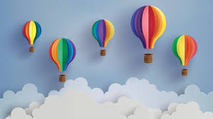 hot air balloon decorations this diy hot air balloon mobile is for a baby s room