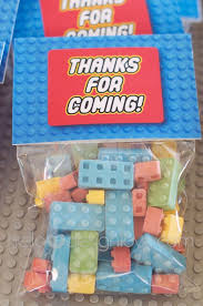 candy legos where to buy a lego birthday party lego candy party favor hellodesignlove