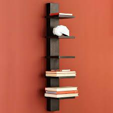 Spine Bookshelf Ikea Wall Mounted Lighted Shelves Wall Mounted Bookshelves Modern Wall