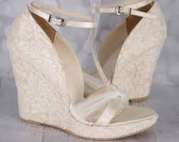 wedding shoes and accessories wedding shoes lace wedding wedges ivory lace wedges ivory