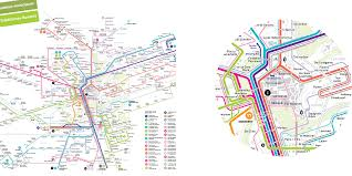 Marta Train Map Maps Jug Cerovic Architect