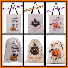 personalized trick or treat bags personalized trick or treat candy loot bag