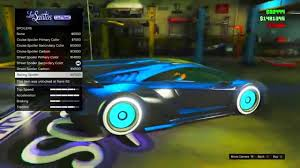 gta 5 online secret car colors tron secret gold galaxy u0026 more