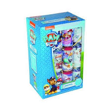 paw patrol 12 crackers with novelty gift