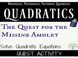 quadratic equations mixed practice and review quadratic equations activity