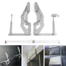 2 cabinet door vertical swing lift up stay pneumatic arm kitchen