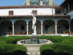 Back view of loggia Picture of Villa Terrace Decorative Arts