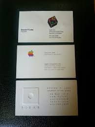 apple business card steve business cards sell for 10 000