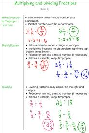 Multiplying Fractions By Whole Numbers Worksheets Multplying And Dividing Fractions 7th Grade Pre Algebra Mr