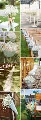 Outdoor Wedding Chair Decorations Best 20 Aisle Decorations Ideas On Pinterest Ceremony