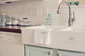 double bowl farmhouse sink with backsplash elegant kitchen with white ceramic double bowl apron sink ikea