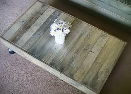 Diy Wooden Pallet Coffee Table by Shipping Pallet To Coffee Table And Finishing Tips