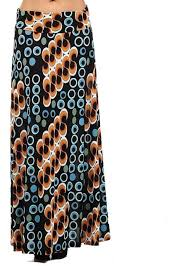 orange black maxi skirt plus size modli