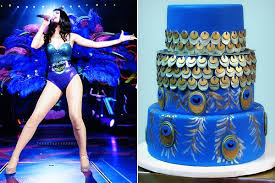 Katy Perry Costume Katy Perry Costume Peacock Cake Clevver