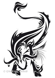 tribal wings and zodiac taurus designs photo 2 photo