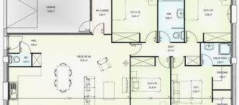 plan maison plain pied gratuit 4 chambres modele plan maison plain pied gratuit usaginoheya maison