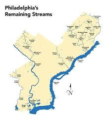 Hydrology Map Philadelphia U2013 Hidden Hydrology