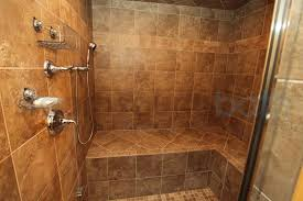 L Shaped Bench Seating Steam Shower Features A Large L Shaped Bench Photo Gallery And