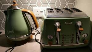 Delonghi Toaster Icona Delonghi Olive Green Vintage Icona Kettle And Toaster Set In