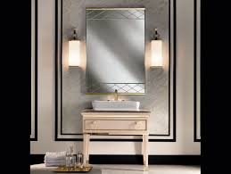 Tall Wall Mirrors by High End Black And White Polka Dot Pattern Bathroom Vanity Also