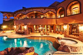 luxury mansions beautiful las vegas mega mansion view from the