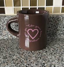 Coolest Coffe Mugs Good Home Life Is Good Coffee Mug Brown Cup Take Your Love